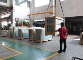 Plywood Crate Package for Building Glass