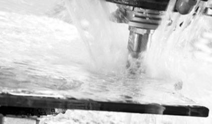Glass Drilling and Waterjet cutting Processing
