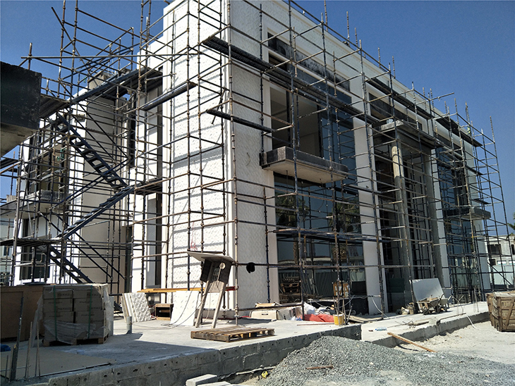 Double glazing glass for Dubai Villa at Jumeira nikki beach