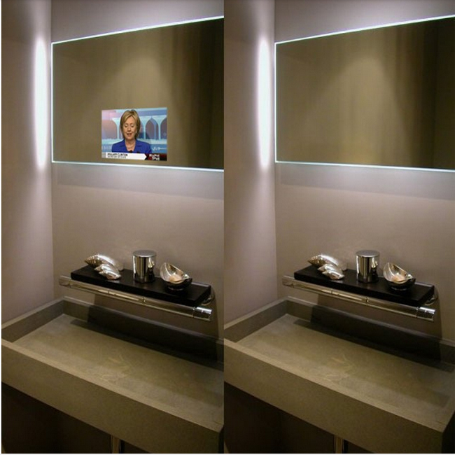 Magic Mirror Display Glass