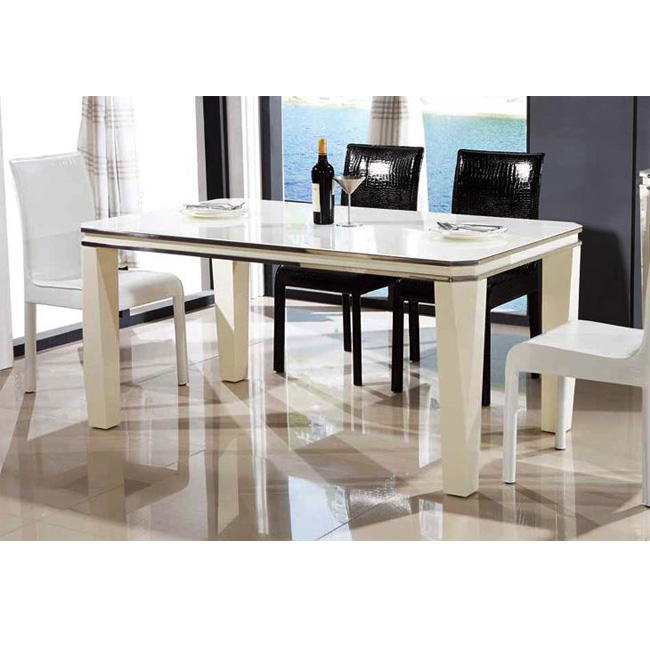 Printing Tempered Glass Dinning Table Top Glass Glass Furniture