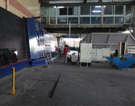 Glass insulating Processing